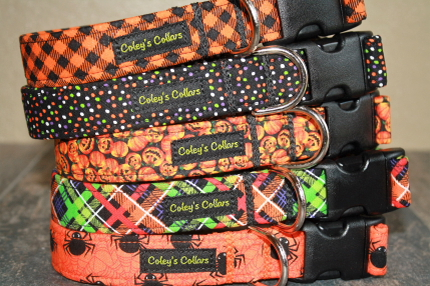Coley's Collars Halloween Collection